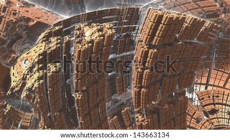 Nano Canyon - stock photo