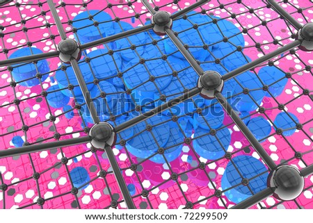 Nanotechnology - the future and hope - stock photo