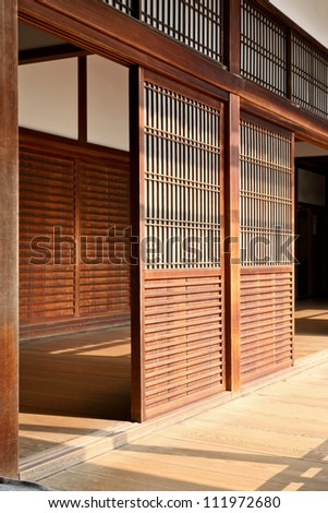 Nanzen-Ji Temple Wood Partition