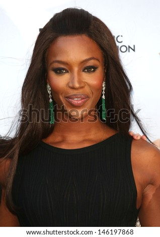 Naomi Campbell at the Novak Djokovic Foundation Event held at the Roundhouse, Camden, London. 08/07/2013 - stock photo