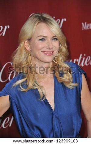 Naomi Watts at the Awards Gala for the 2013 Palm Springs International Film Festival. January 5, 2013  Palm Springs, CA Picture: Paul Smith
