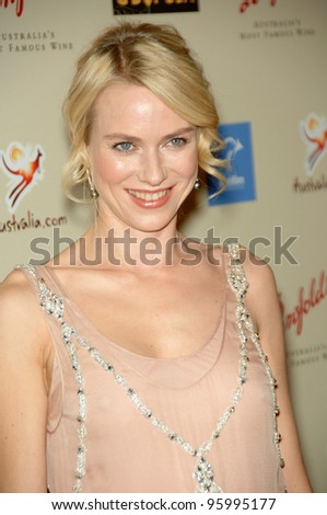 NAOMI WATTS at the Penfolds Icon Gala - part of the G'Day LA week - at the Century Plaza Hotel. January 13, 2007 Los Angeles, CA Picture: Paul Smith / Featureflash