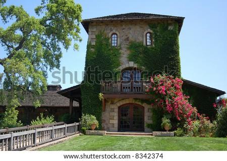 Napa Valley Winery - stock photo