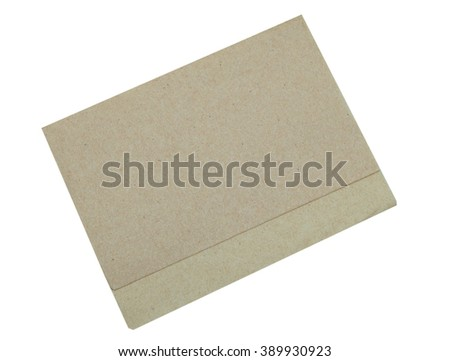 Napkin Paper Isolated on White Background