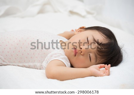 napping time - stock photo