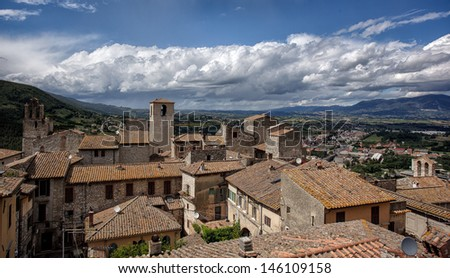 Narni -  a View From the Top