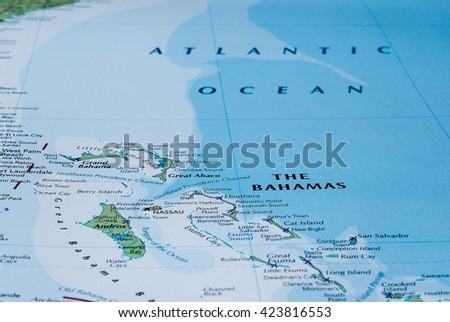 Andros Bahamas Stock Images RoyaltyFree Images Vectors - Bahamas country political map