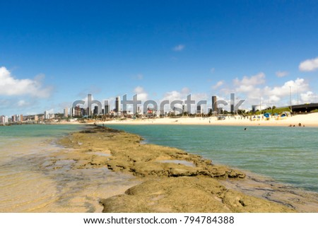 Natal Cityscape from the beach