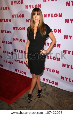 Natalie Zea  at the NYLON Magazine Party Celebrating the Launch of their TV issue. The Roosevelt Hotel, Hollywood, CA. 09-04-08