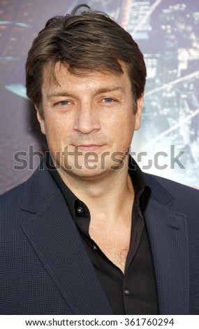 "Nathan Fillion at the Los Angeles premiere of ""The Amazing Spider-Man"" held at the Grauman's Chinese Theater, Los Angeles, USA on June 28, 2012."