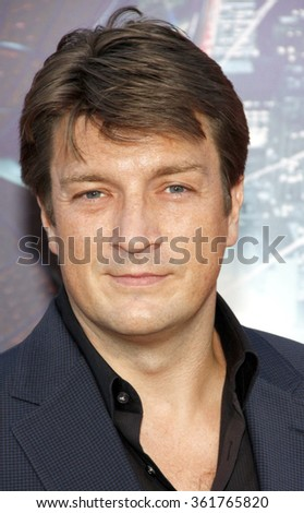"Nathan Fillion at the Los Angeles premiere of ""The Amazing Spider-Man"" held at the Mann Village Theater in Los Angeles, California, United States on June 28, 2012."
