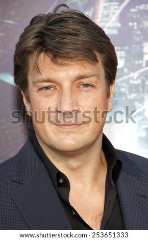 "Nathan Fillion at the Los Angeles premiere of ""The Amazing Spider-Man"" held at the Westwood Village Theater in Los Angeles, California, United States on June 28, 2012."