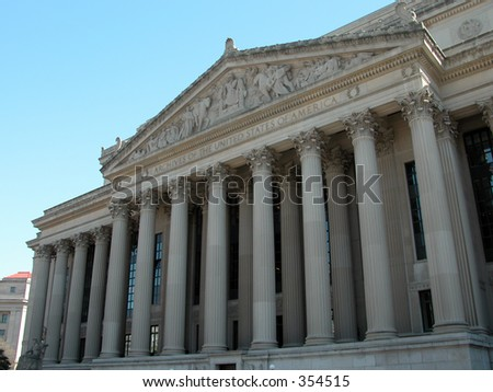 National Archives in Washington D.C.
