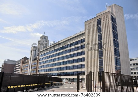 National Audit Office building, Buckingham Palace Road, Victoria, London - stock photo