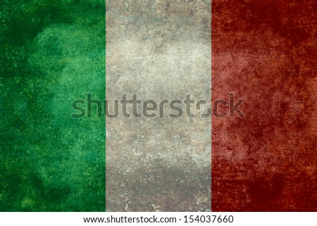 National Flag of Italy, Vintage version