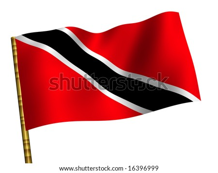 National Flag. Trinidad and Tobago