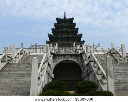 National Folk Museum of Korea, Seoul, South korea - stock photo