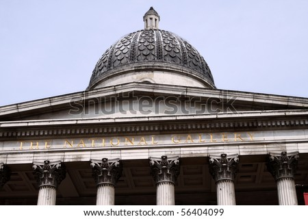 National Gallery. London - stock photo