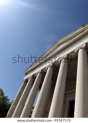 National Gallery of Art in Washington DC - stock photo