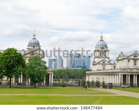 National Maritime Museum, Greenwich, England - stock photo