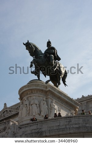 National Monument of Victor Emmanuel, Rome, Italy