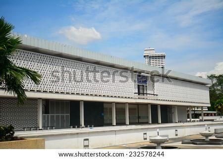 National Mosque, Kuala Lumpur, Malaysia - stock photo
