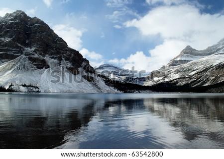 National Park Alberta Canada - stock photo