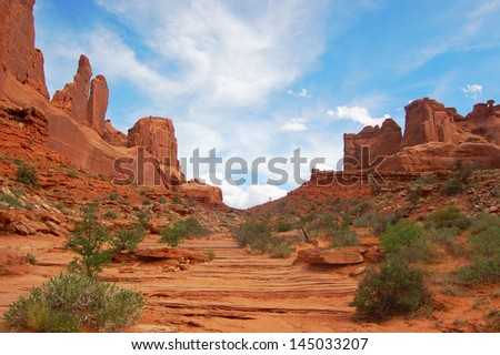 National park, canyon