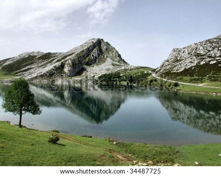 National Park of Picos Europe (Spain)