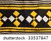 Native American Seminole handmade quilted patterns - stock photo