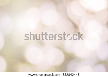 Natural background blurring.warm colors and bright sun light. bokeh background or Christmas background.Green Energy.