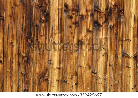 Natural background of wooden planks showing fine details of wooden grain.