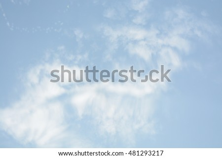 Natural background, sky