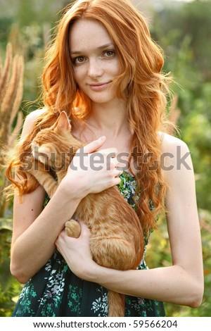 Натуральные рыжие волосы фото