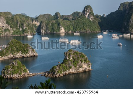 Natural Beauty in Vietnam - stock photo