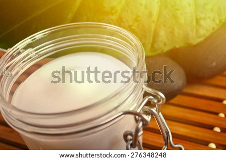 Natural beauty - Spa elements  - stock photo