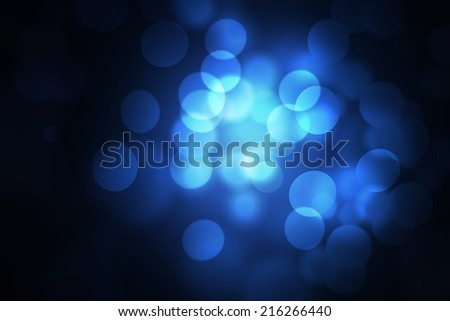 natural blue abstract blurred background, bokeh