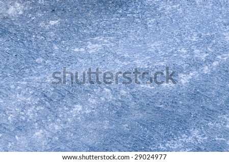 natural blue ice background