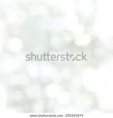Natural Bokeh. Blurred Color Background of Grey, Neutral Color - stock photo