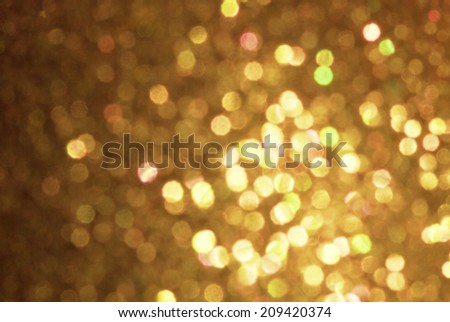 Natural bokeh  sparkling holiday background - stock photo