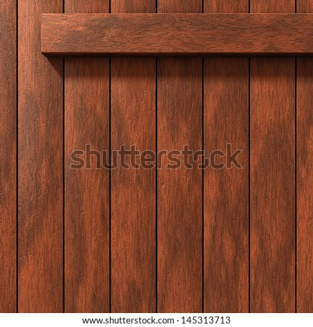 Natural brown wood wall background