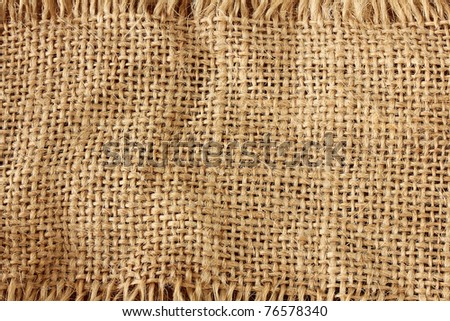natural burlap texture.can be very useful for designers purposes - stock photo