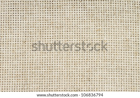 Natural cloth close-up - stock photo