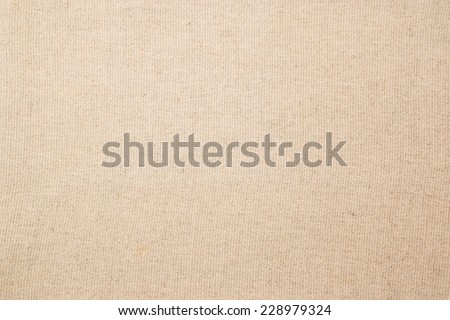 Natural cloth cotton texture background swatch for fashion design white ivory color  - stock photo