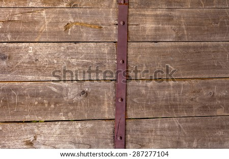 Natural color old wooden wall texture background