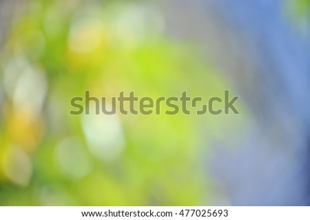 Natural defocused blurred spring bokeh background. Abstract background