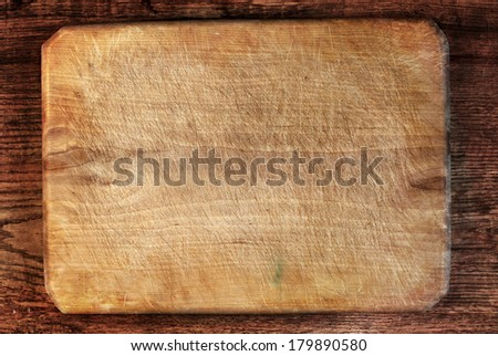 Natural distressed wood. grunge wood background - stock photo