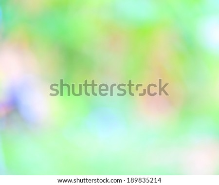 natural green background with selective focus. - stock photo