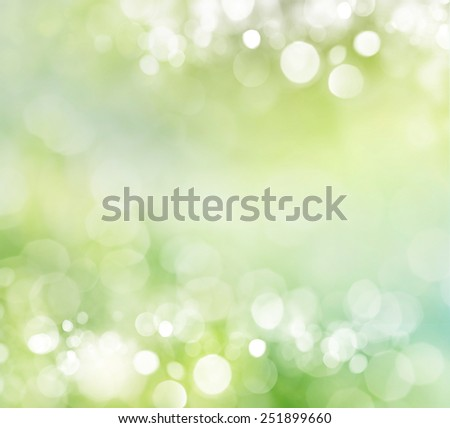 natural green background with selective focus - stock photo