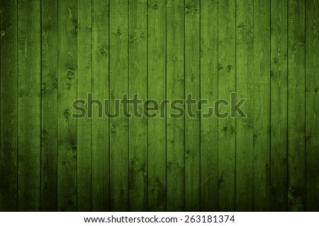 Natural green wood texture with an array of knots and ring lines.  - stock photo